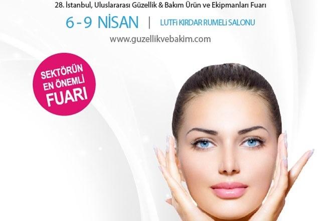 28. İstanbul Uluslararası Güzellik ve Bakım Fuarı 6-9 Nisan 2017