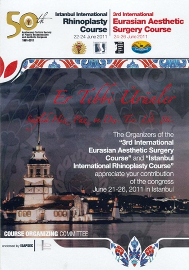 50th Istanbul International Rhinoplasty Course and 3rd International Eurosian Aesthetic Surgery Cour