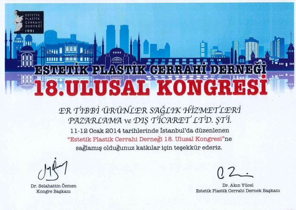 18th National Congress Of Aesthetic and Plastic Surgery