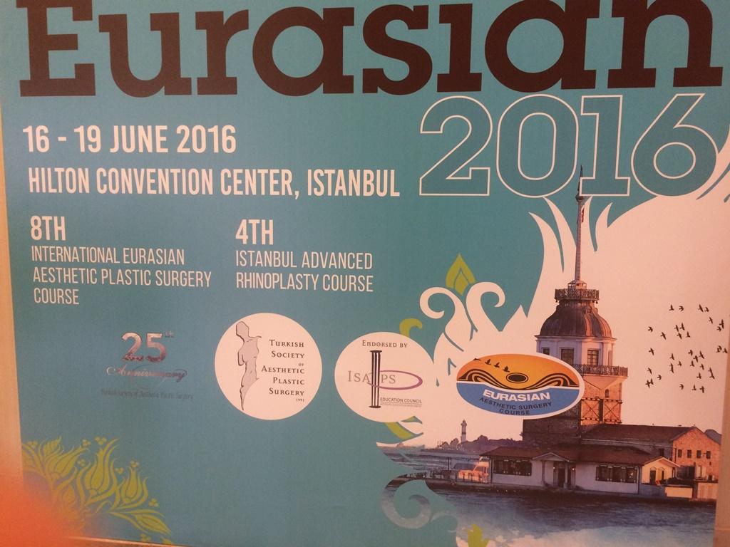 16 19 June Hilton İstanbul International Eusian Aestetic Plastic Surgery Course