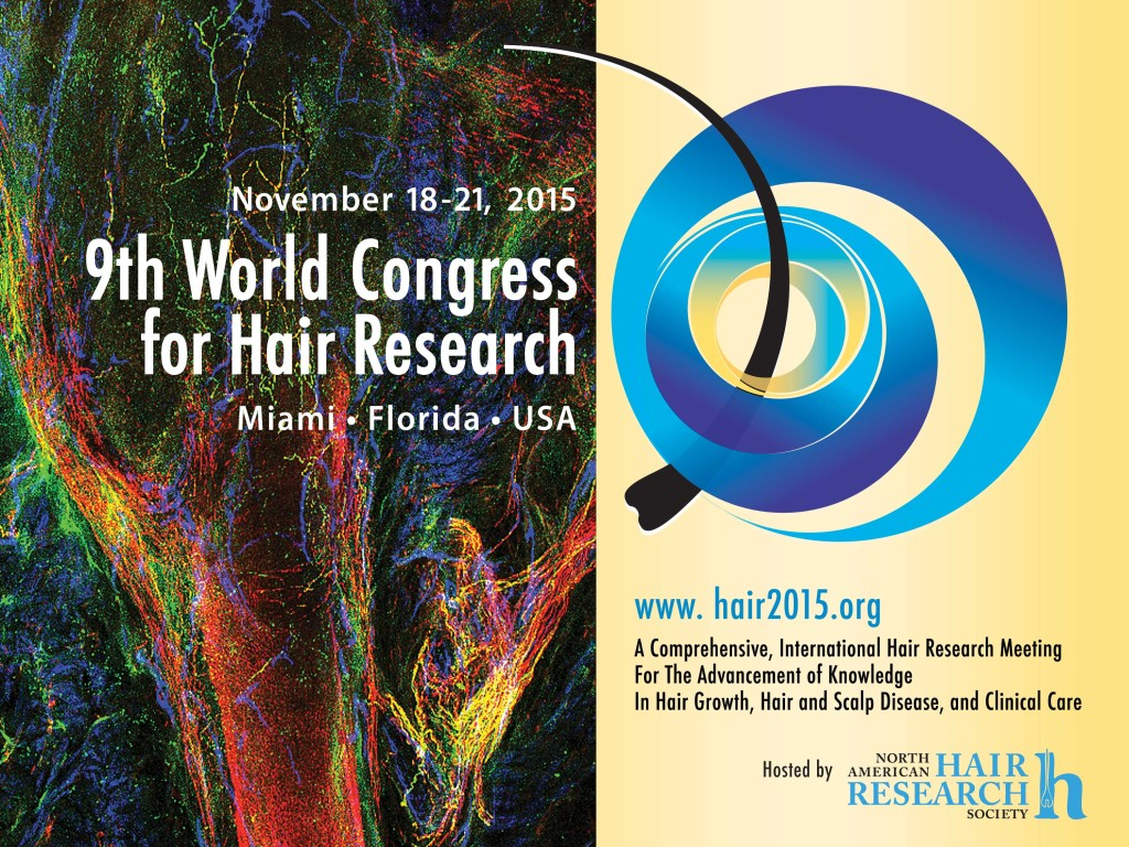 9th World Congress for Hair Research Miami 18-21 Nov 2015