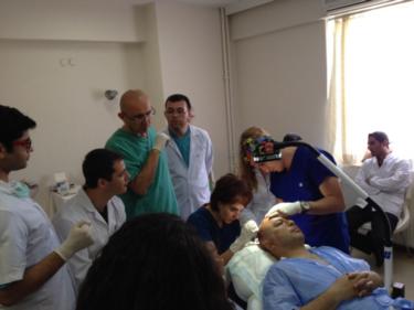 Cerrahpaşa Tıp Fakültesi Saç Ekim Kursu 17.05.2015
