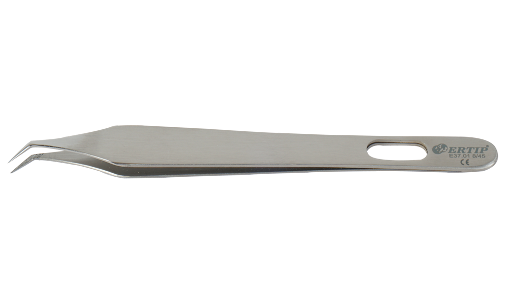 Ertıp Soft Model Extracting Forceps Wıth Horizontal Serration (8 MM 45°)