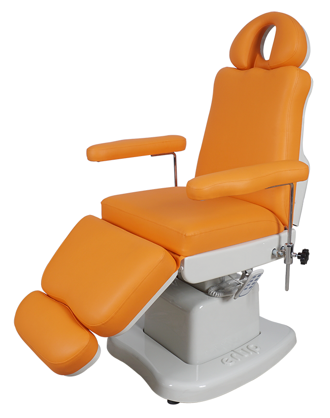 ELEGANCE Hair Transplant and Medical Aesthetic Chair (4 Motorized ) Orange