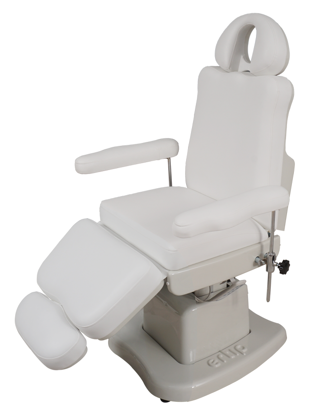 ELEGANCE Hair Transplant and Medical Aesthetic Chair (4 Motorized ) White