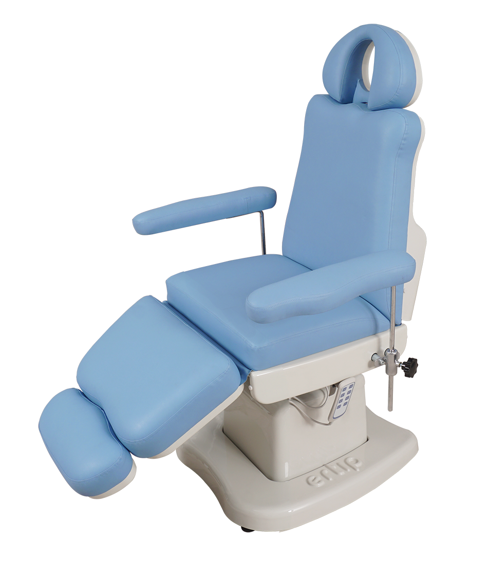 ELEGANCE Hair Transplant and Medical Aesthetic Chair (4 Motorized ) Blue