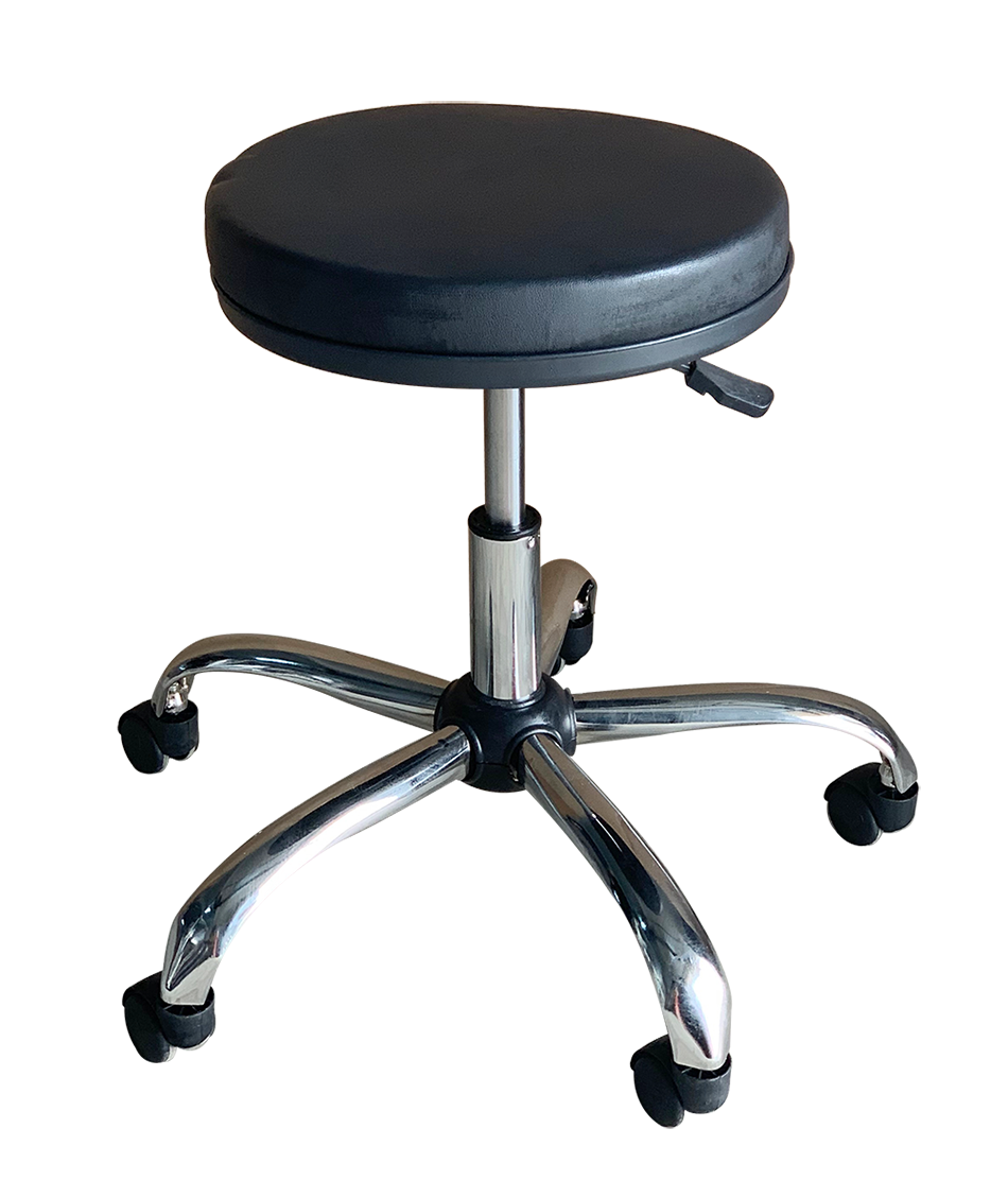 Medical Stool Without Backrest  (Black)