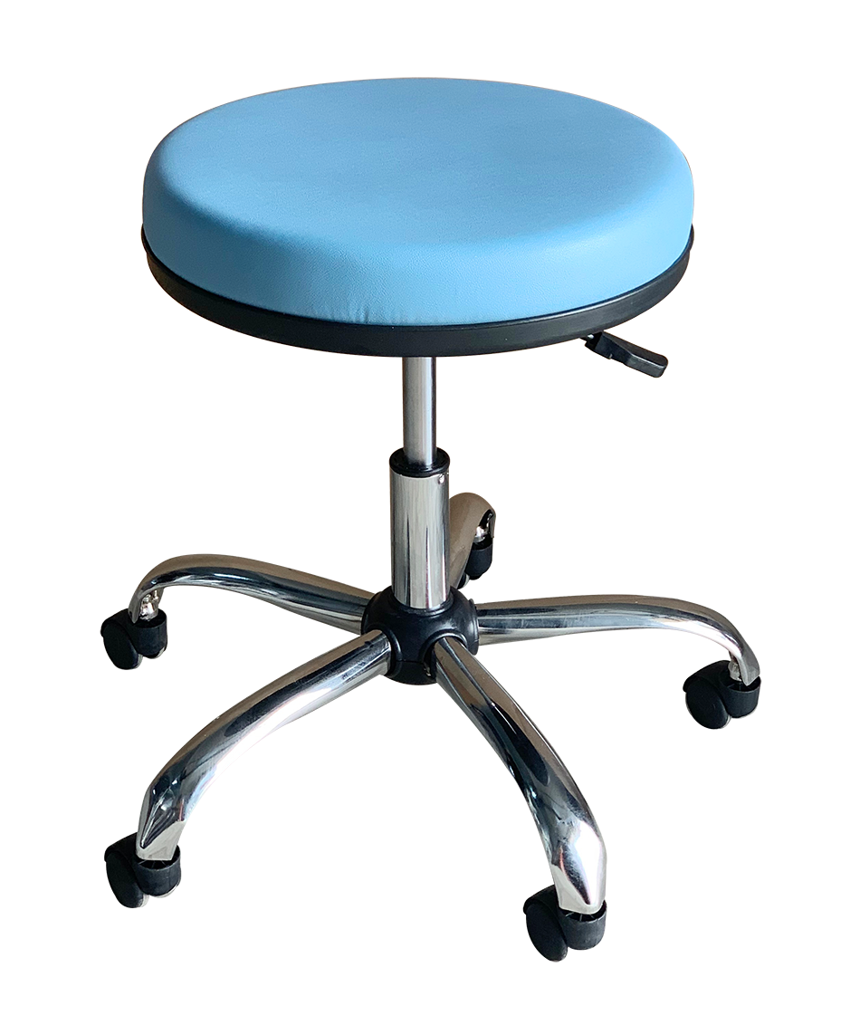 Medical Stool Without Backrest (Blue)