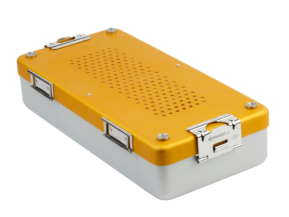 Bahadır Brand Middle Size Container (Yellow)