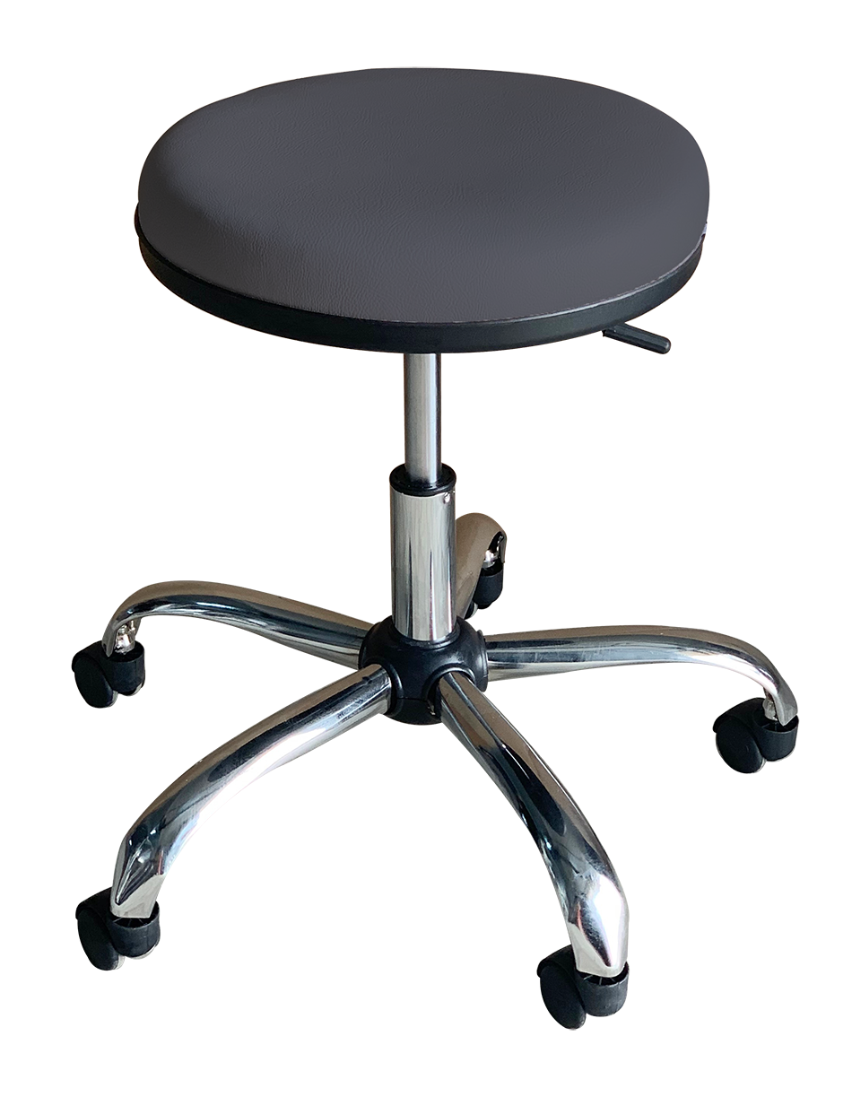 Medical Stool Without Backrest (Dark Grey)