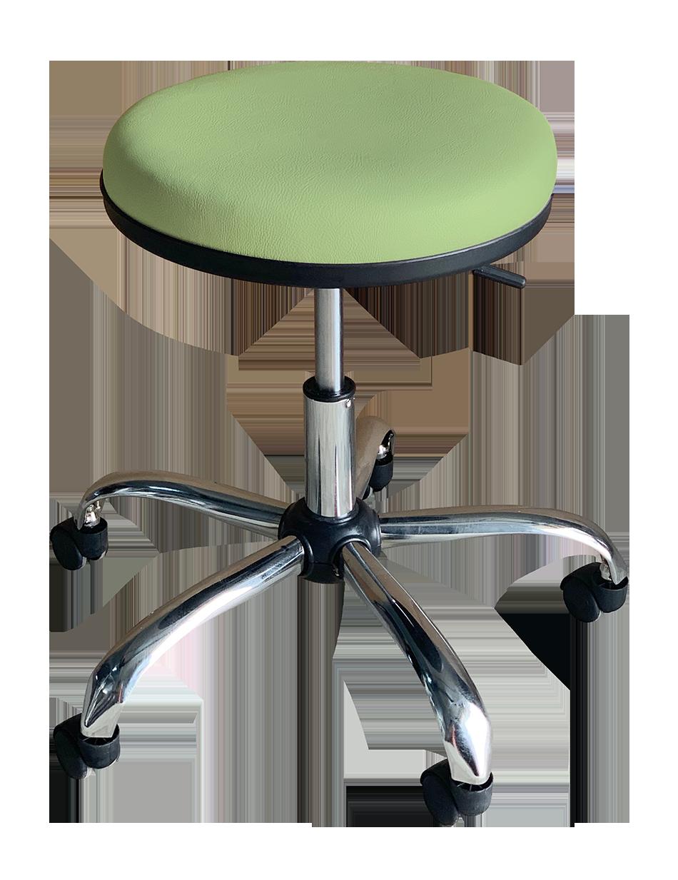 Medical Stool Without Backrest (Light Green)